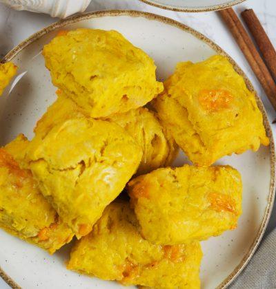 vegan pumpkin scones