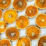 dehydrate orange
