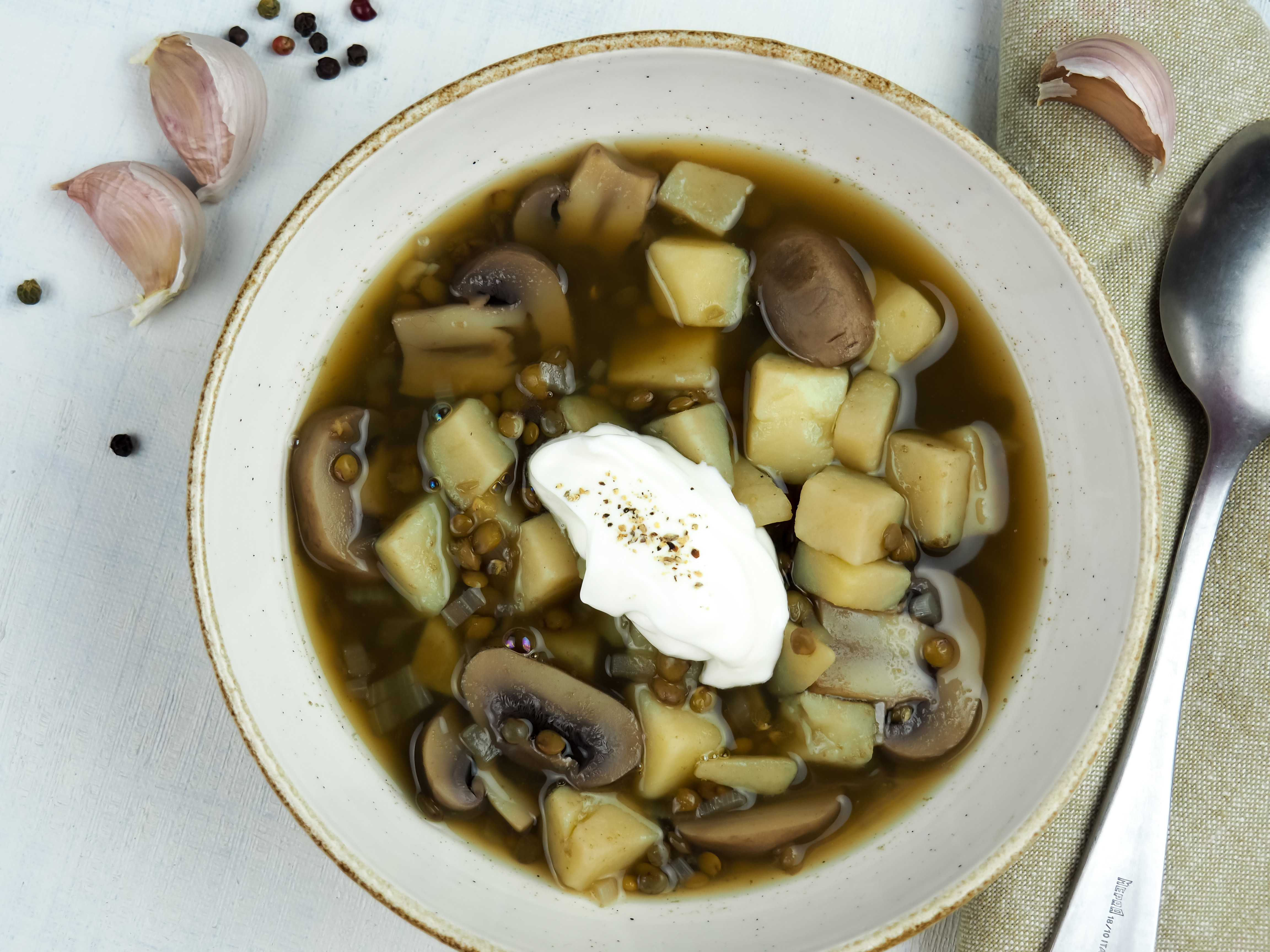 frecnh lentil soup
