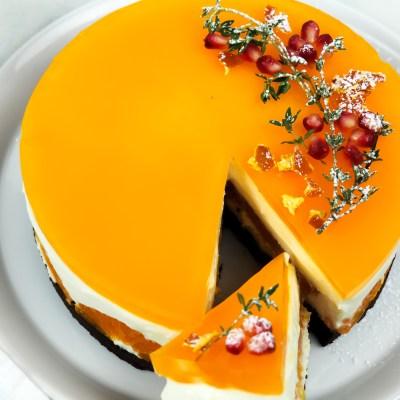 MANDARIN GINGERBREAD CAKE