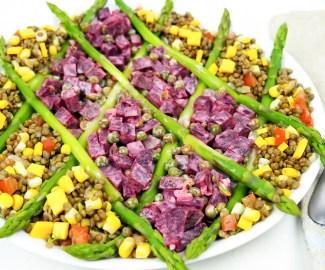 vegan nicoise salad recipe