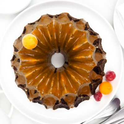 VEGAN CHOCOLATE COFFEE BUNDT CAKE