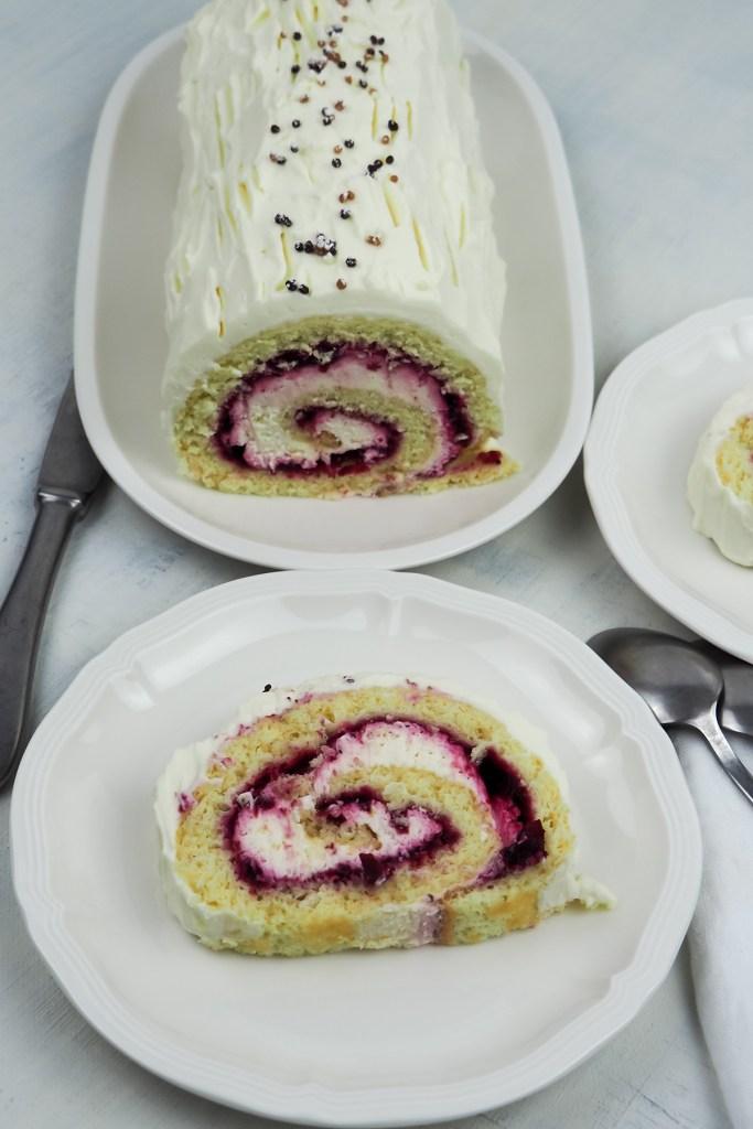 vegan swiss roll