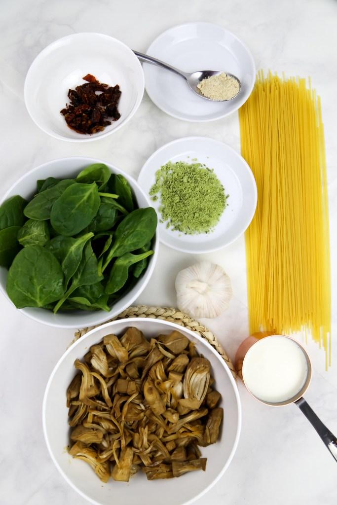 vegan tuscan pasta