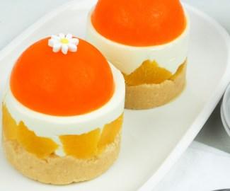 no bake orange cheesecake