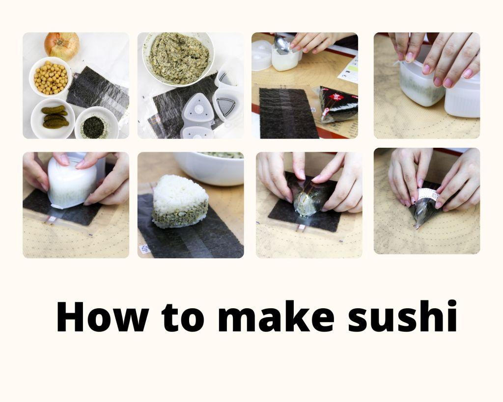 vegan tuna sushi