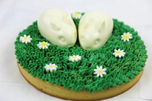 vegan bunny cake