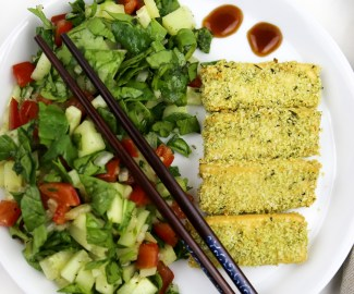 vegan baked tofu