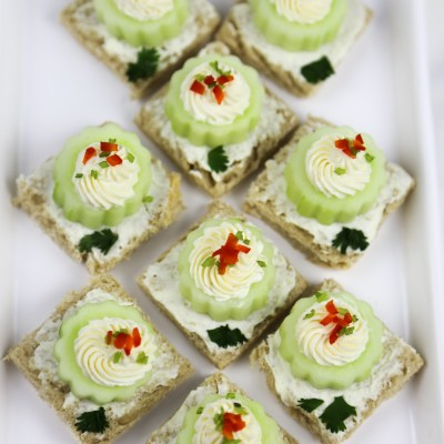 CUCUMBER SANDWICH (TEA SANDWICH)