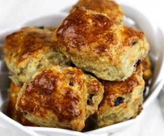 fig and cherry scones