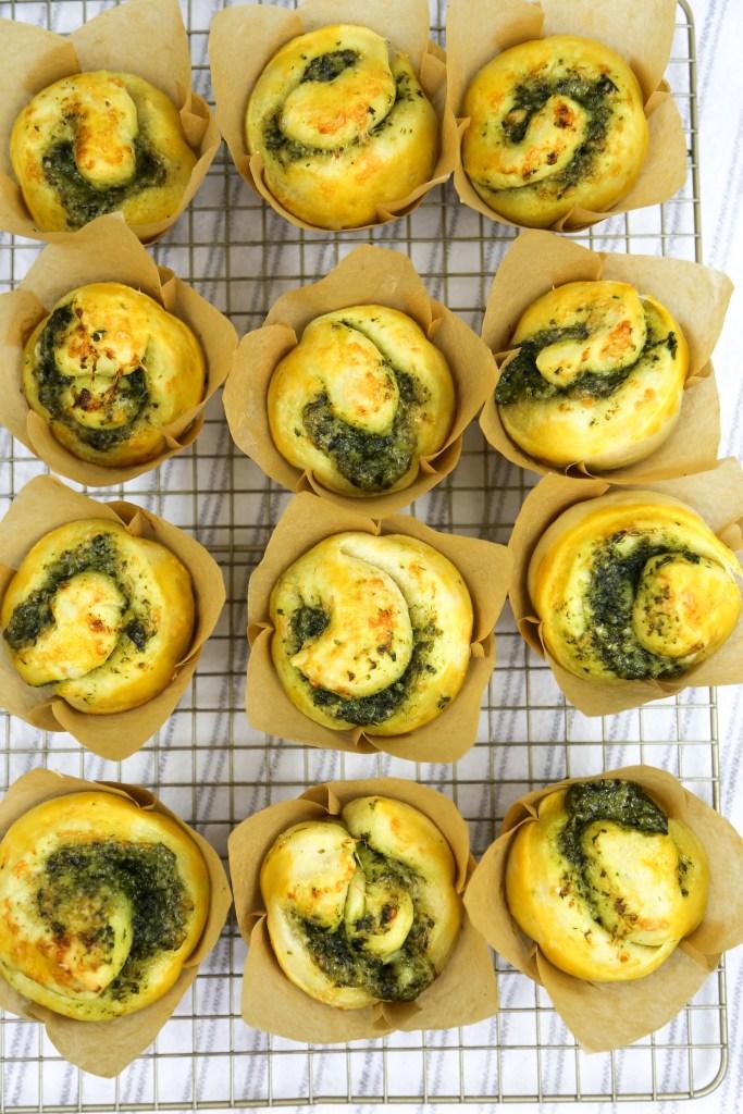 pesto cupcakes