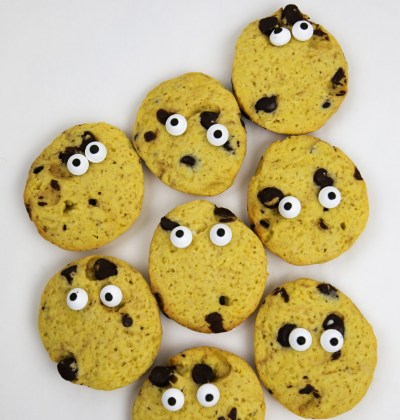 pumpkin chocolate cookies